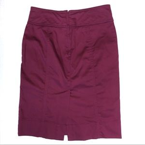 H&M Berry Pencil Skirt Size 2